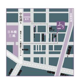 治療院ふう地図